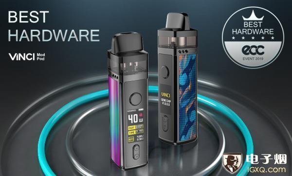 年度最佳电子烟设备VINCI达·芬奇全网首发,仅需299元即可拥有!