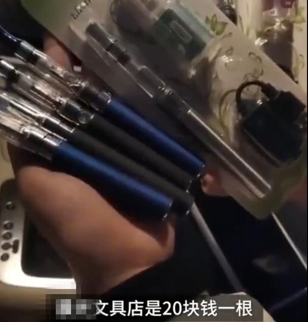 河南卫辉有文具店被指卖电子烟给小学生,涉事店铺已被查封